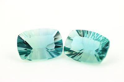 FLUORITE GREEN 2 pieces 29.91 cts. IF. Africa