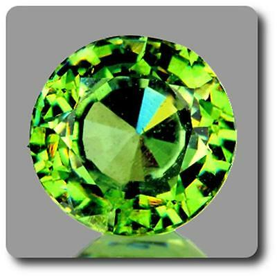 GARNET DEMANTOID . 0.74 cts . VVS Ural Mountains, Russia With Certificate