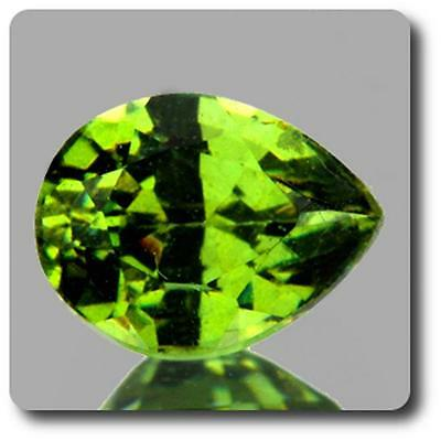 GARNET DEMANTOID . 0.63 cts. VVS Ural Mountains, Russia With Certificate