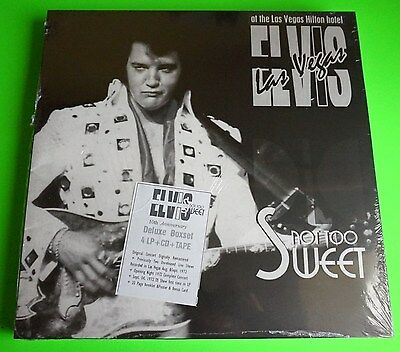 Elvis Presley - NOT TOO SWEET- SPECIAL DELUXE 10 YEARS ANNIVERSARY EDITION