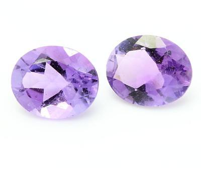 AMETHYST . 2 pieces 4.23 cts. VVS1. Africa