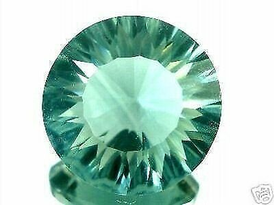 FLUORITE GREEN . 5.96 cts. VVS . INDIA