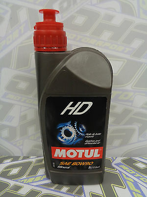 Motul Gear HD 80w90 Extreme Gearbox & Differential Oil Fully Synthetic 1L NEW