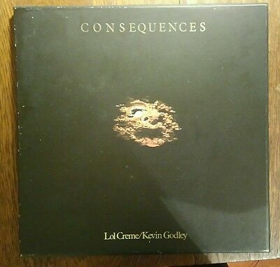 Godley and Creme Consequences Box set 1977 ex with booklet