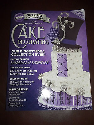2014 Wilton Yearbook Cake Decorating New Free Shipping!!!!!