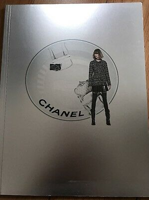 Auth Chanel Travelling In Space F/W 2013/2014 Magazine Fashion Catalog