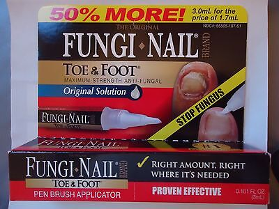 fungal treatment MAXIMUM STRENGTH FINGER & TOE NAIL Fungi Cure 50 extra % free