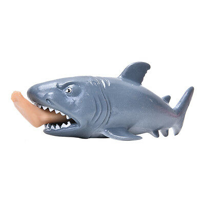 1 Pcs Plastic Shark Squeeze Stress Reliever Pressure Reducing Toy Anti-Stress ab