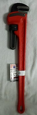 """Brand New 24"""" Ridgid Heavy Duty Professional Pipe Wrench - FREE SHIPPING"""