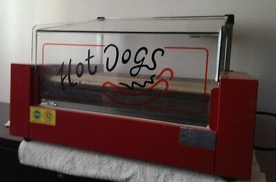 Hotdogs Grill Machine-9Rolls- with Double Temperature Control