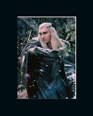 Matted Official Lotr Art * Desolation Of Smaug * Thranduil In Battle