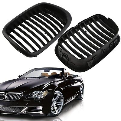 Black Fence Air Flow Vents Grille Mesh For BMW E39 1995-2004 5 Series LO