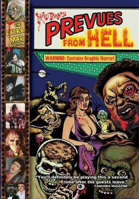 Mad Ron's Prevues From Hell [The Extra Mad Edition] (2010, DVD NUEVO) (REGION 1)