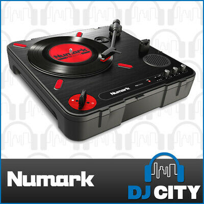 Numark portable scratch turntable PT01 SCRATCH with Built-in Speakers - NEW