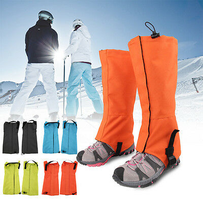 1 Pair OUTAD Waterproof Outdoor Hiking Climbing Hunting Snow Legging Gaiters AU2