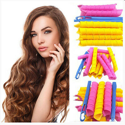 Hair Roller Hot DIY Curlers Large Magic Circle Spiral Styling Tools Many Size UK