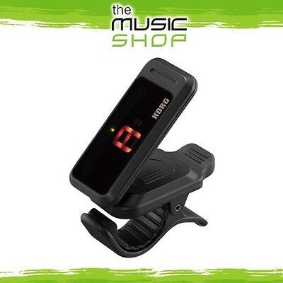 New Korg Pitchclip Clip On Guitar & Bass Tuner - Black - PITCHCLIP