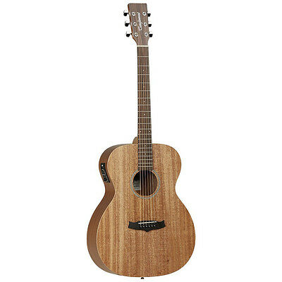 TANGLEWOOD WINTERLEAF ORCHESTRA acoustic electric guitar with hard case