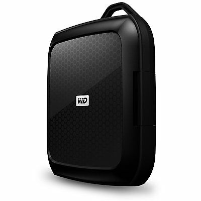 "GENUINE WD Western Digital Nomad Rugged Case for 2.5"" External Hard Drive"