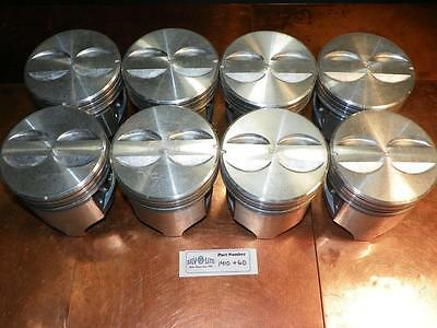NOS 1955 1956 1957 Chevrolet 265 V8 Aluminum Piston Set W/ Pins 1410 +.060
