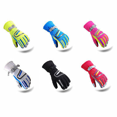 Professional Ski Gloves Waterproof Warm Gloves Outdoor Hand Protective Gloves LO