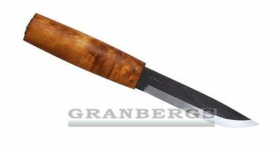 Helle Viking Fixed Blade Knife Carbon Steel