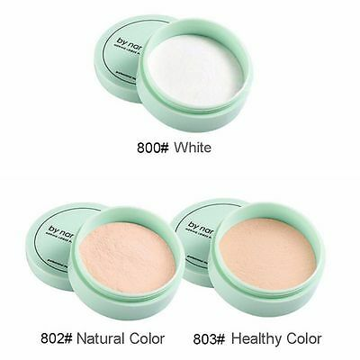 Translucent Face Makeup Smooth Foundation Waterproof Loose Finish Powder 3 Color