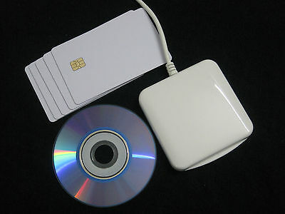 ACR38U-I1 Protable Contact Smart IC Chip Card Reader Writer Support MAC&Linux OS