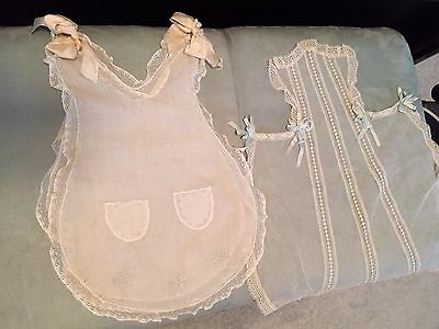 13 Antique Childs clothing, texiles, accessories from 19-20th Century