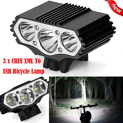 15000LM XML T6 LED Cycling Bicycle Bike Head Light Lamp Headlamp Flashlight lot