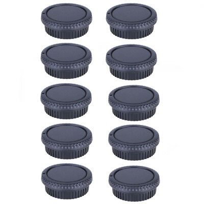 10Pcs Body Cap + Rear Lens Cover for Nikon DSLR SLR AI AF Digital Camera free