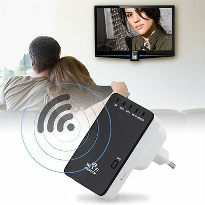 300Mbps Wireless-N Mini Router Wifi Repeater Extender Booster Amplifier UG