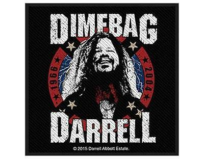 Official Licensed - Dimebag Darrel - 1966 To 2004 Woven Sew-On Patch Pantera