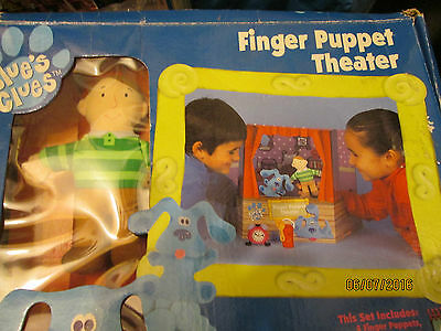 Blues Clues Mini Puppet  Theater Show Boxed Free P+P