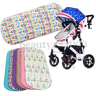 Washable Soft Chair Stroller Pushchair Car Seat Pram Padding Liner Pad Cushion