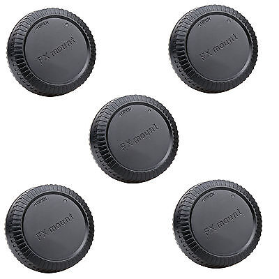 5pcs Rear lens cap cover for Fujifilm Fuji FX X mount camera Wholesale lots 5x
