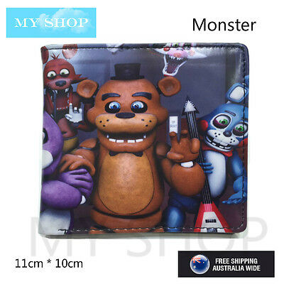 Five Nights at Freddy's - Children Teen-ages Faux Leather Bi-fold Slim Wallet