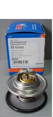 Thermostat ohne Dichtung 87 °C AUDI MAHLE BEHR TX 14 87 D
