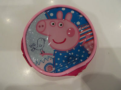Peppa Pig Coin Purse NWOT Pink/Blue/White