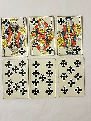 19th Century French Playing Cards Full Deck of 52