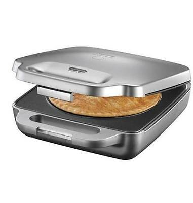 Large 20cm Family Size Pie Maker Stainless Steel Brand New Free Postage