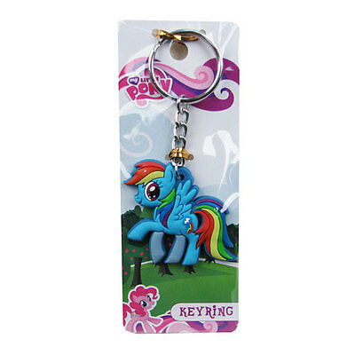 Officially Licensed My Little Pony Friendship is Magic Rainbow Dash Keyring