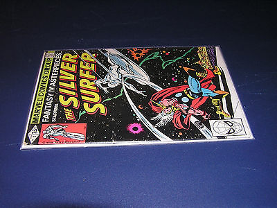Silver Surfer #4, Thor cover! Classic cover!