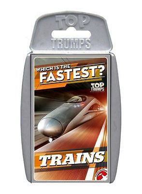 Top Trumps Trains Card Game