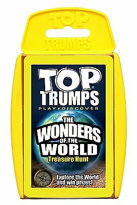 Top Trumps - Wonders of the World Game