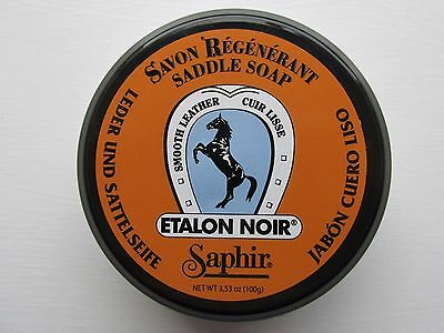 SAPHIR SADDLE SOAP 100/500ml, CLEANS, RESTORES & CONDITIONSSMOOTH LEATHER GOODS