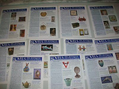 Kovel's On Antiques And Collectables Newsletter - 11 Issues From 2006