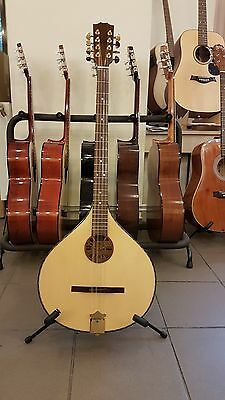 Concert Irish Bouzouki, made in Romania by Hora,solid wood, NEW + soft case gift