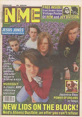 NED'S ATOMIC DUSTBIN / MORRISSEY / POWER OF DREAMS NME Mar 30 1991