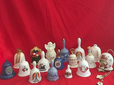 17 collectable bells
